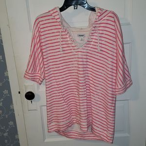 Old navy short sleeved hoodie